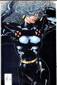 Marvel Comics Art, Marvel Heroes, Anime Comics, Comic Books Art, Comic Art, Book Art, Storm Images, Ororo Munroe, Kitty Pryde