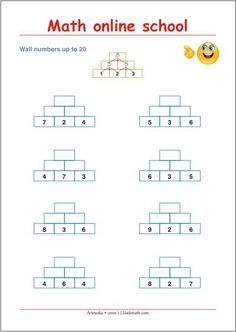 Third class math - Inverse operations - Free math printables | Math ...