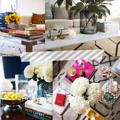 The Short and the Sweet of It: Coffee Table Styling