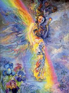 #Iris #Goddess of the #Rainbow brings favorable messages from the Gods...