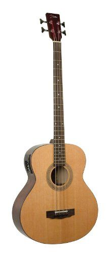 Johnson JG-622-E Deep Body Jumbo Acoustic/Electric Bass * More info could be found at the image url.