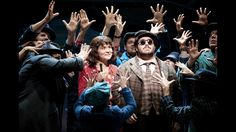 """Phillipa Soo and David Andino in  """"Amelie, a New Musical."""""""