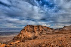 Masada: Ancient fortress in Israel.