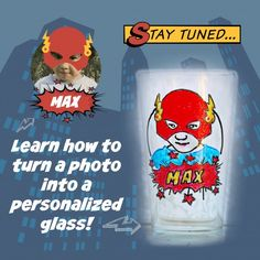 Put your photo on a glass!