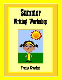 Summer Writing Workshop is a fun way to introduce summer vocabulary to your students while helping them increase their language skills. $