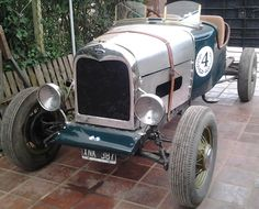 #Baquet #Ford A restaurada a nuevo. http://www.arcar.org/ford-a-70875