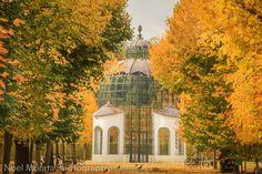The grand aviary at Schonbrunn gardens. From Vienna highlights: a fall garden tour at Schonbrunn
