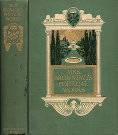 DD--Browning, Elizabeth--Mrs Browning's Poetical Works--NY, Crowell, c. 1906