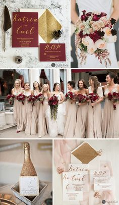 Best Winter Wedding Tips modern custom rose gold/gold/silver foil vellum paper wedding invitations # Gold Wedding Theme, Wedding Paper, Wedding Themes, Wedding Decorations, Wedding Ideas, Champagne Wedding Colors, Dream Wedding, Cranberry Wedding Colors, Wine Colored Wedding