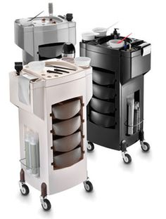 Buy Artecno Deluxe Color Trolley at discount prices at http://www.estheticaspafurniture.com/Salon-Furniture/Artecno-Delux-Color-Trolley.html