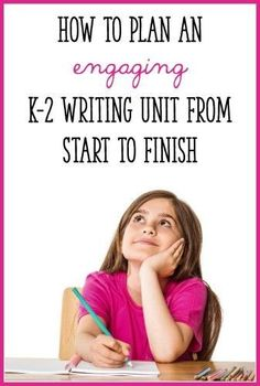 This post takes you, step-by-step, through the process of planning an engaging writing unit! Click through to get ideas for your Kindergarten, first grade, or second grade writing lessons. Kindergarten Writing, Teaching Writing, Student Teaching, Writing Activities, Teaching Ideas, Narrative Writing, Opinion Writing, Fiction Writing, Work On Writing