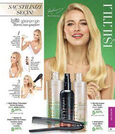 Circassian beauty, Çerkes güzeli Burcu, Circassian woman, Avon saç ürünleri, şampuan, saç kremi, hair products, Avon Turkey