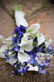 Image result for calla lily wedding bouquet blue