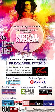 #NEPAL #NACHCHA 4 presented by #IMEE C.Jackson Agency & Wiz Entertainment.