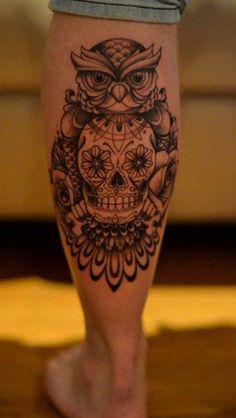 7 Best Owl Skull Tattoos Images Owl Skull Tattoos Tattoo Owl