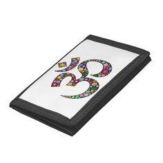 #Om #Ohm #Aum #Namaste #Yoga #Symbol #wallet    http://www.zazzle.com/om_aum_namaste_yoga_symbol_wallet-256461197127733130