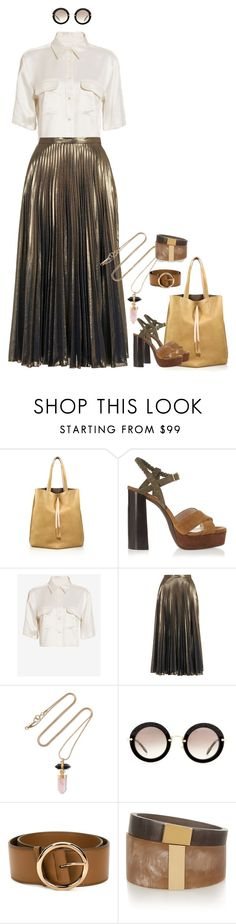 """Style#921"" by mussedechocolate ❤ liked on Polyvore featuring Maison Margiela, Lanvin, Equipment, Topshop, Isabel Marant, Miu Miu, STELLA McCARTNEY, women's clothing, women and female"