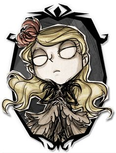 Don't Starve Together - Wendy Shadow Skin Art
