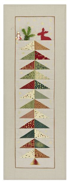 Glimmering by STOF fabrics, advent calendar
