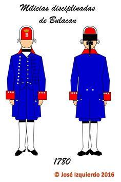 Milicias Disciplinadas de Bulacan,  1780