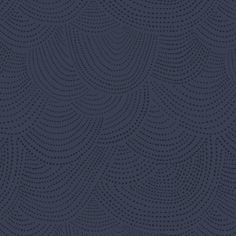 Fabric... Foxtail Forest Scallop Dot in Navy by Dear Stella