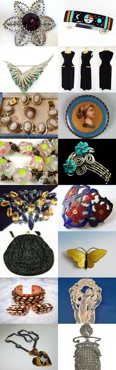 Just A Little Help From My Friends Vintage Jewelry Fashion Teamlove by Gena Lightle on Etsy--Pinned with TreasuryPin.com