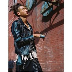 Happy to introduce Jaden Smith @christiaingrey in the new SS16 @louisvuitton ad Campaign photographed by Bruce Weber