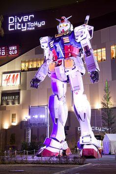 Gundam @ Diver City Tokyo  #ガンダム #お台場 #ダイバーシティ