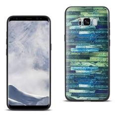 Virtual Reality Reiko Samsung Galaxy S8 Edge Embossed Wood Pattern Design Tpu Case With Flowers Beautiful And Charming Cases, Covers & Skins