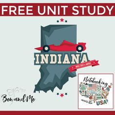 Notebooking Across the USA: Indiana Unit Study
