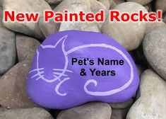 Home - Pet Memorial Stones Pet Memorial Jewelry, Pet Memorial Stones, Memorial Ideas, Pet Headstones, Pet Grave Markers, Fun Projects For Kids, Rock Painting Designs, Stone Crafts, Pet Names