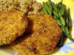 "Bryanna Clark Grogan's Vegan Feast Kitchen/ 21st Century Table: EASY CHANA (CHICKPEA) ""CUTLETS"""