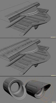FAQ: How u model dem shapes? Hands-on mini-tuts for mechanical sub-d AKA ADD MORE GEO - Page 52 - Polycount Forum