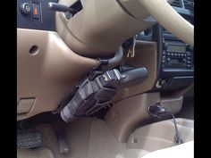 hidden gun holster for the truck/SUV