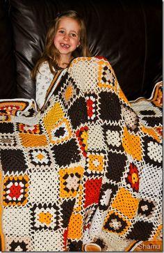 Granny squeers, bestemorsruter, #crochet #crochets #oldemorsruter #granny