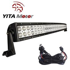 "YITAMOTOR CURVED 50"" 480W Flood Spot Combo LED Work Light Bar Fog Driving DRL SUV 4WD JEEP + Wiring - http://www.caraccessoriesonlinemarket.com/yitamotor-curved-50-480w-flood-spot-combo-led-work-light-bar-fog-driving-drl-suv-4wd-jeep-wiring/  #480W, #Combo, #Curved, #Driving, #Flood, #Jeep, #Light, #Spot, #Wiring, #Work, #YITAMOTOR #Exterior, #Lights-Accessories"