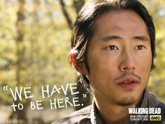 """""""We are them, Rick. We are now."""" – Glenn #TWDTakeover The Walking Dead 5x15 """"Try"""""""