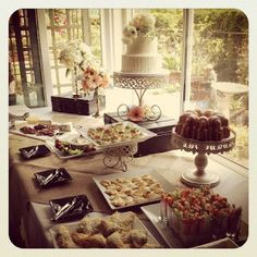 Pinterest style party planning---You CAN do it yourself! Make your Thanksgiving buffet beautiful!  Imagine, See, Do