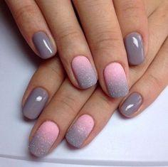 А вам нравится эффект ОМБРЕ на ногтях?  #маникюр #ногти #nail #nailart #салонкрасоты