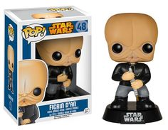 Funko Pop! Star Wars Figrine D'an Exclusive Vinyl Figure