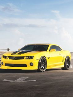 Ready for take off! Check out this Camaro for #MusclecarMonday