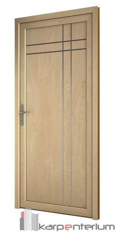 Puerta moderna B19-1