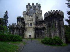 #Castillo_de_Butròn in Gatika, Basque Country, Spain