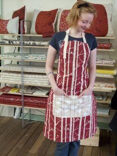 Apron Tutorial - The Crafts Dept. Marla