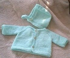 Free Knitting Pattern - Preemie Clothes: Raglan Sweater and Cap: Baby Sweater Patterns, Baby Cardigan Knitting Pattern, Knit Baby Sweaters, Baby Knitting Patterns, Baby Patterns, Preemie Clothes, Knitted Baby Clothes, Baby Knits, Knitting For Kids