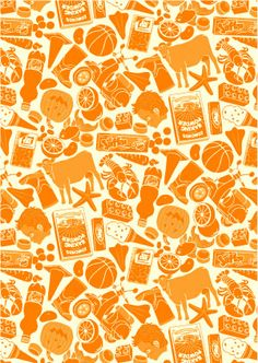 What's My Favorite Color, Kiwiana, Travel Around The World, Rainbow Colors, New Zealand, Orange Color, Artsy, Orange Things, Illustration