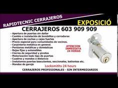 CERRAJEROS EXPOSICIÓ VALENCIA 603 909 909
