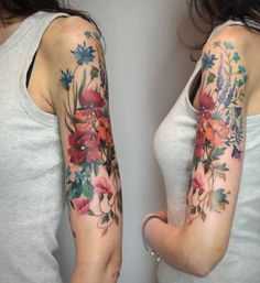 Looking for Tattoo design ideas for women. Here are best Half sleeve tattoo ideas for women which you can take inspiration from and get it done. Pretty Tattoos, Sexy Tattoos, Beautiful Tattoos, Body Art Tattoos, Arm Tattoos, Tatoos, Tigh Tattoo, 1 Tattoo, Samoan Tattoo