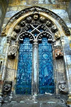 #doors Roslin Chapel Scotland, window