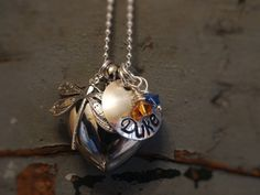 Memorial Jewelry for Ashes Dragonfly Heart URN Cremation